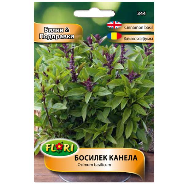Seminte de busuioc scortisoara, Florian, 0.5 grame 0