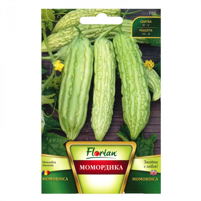 Seminte de castravete amar momordica charantia, Florian, 2 grame 0