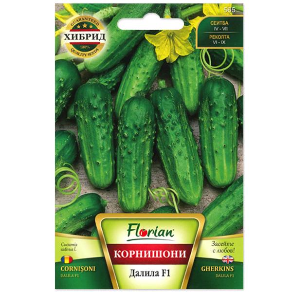 Seminte de castraveti cornichon Dalila F1, Florian, 1,5 grame [0]