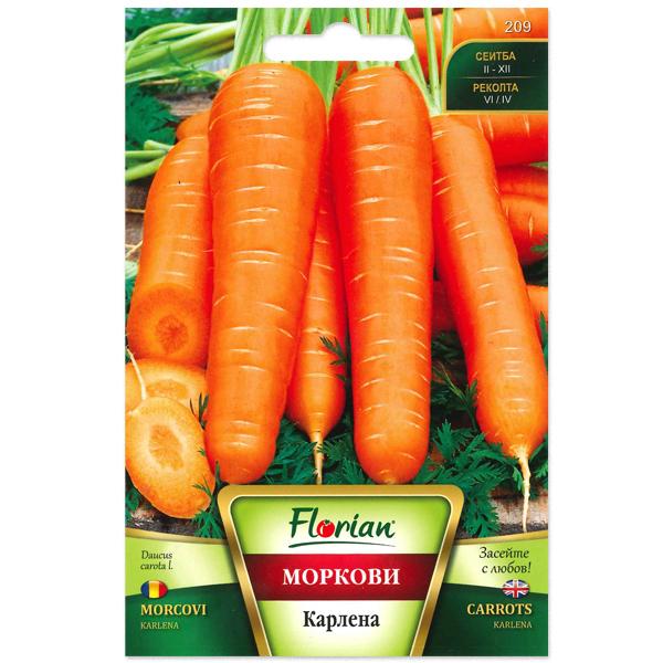 Seminte de morcovi Karlena, Florian, 5 grame 0