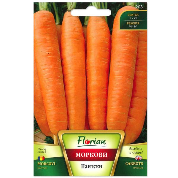 Seminte de morcovi Nantski, Florian, 10 grame [0]