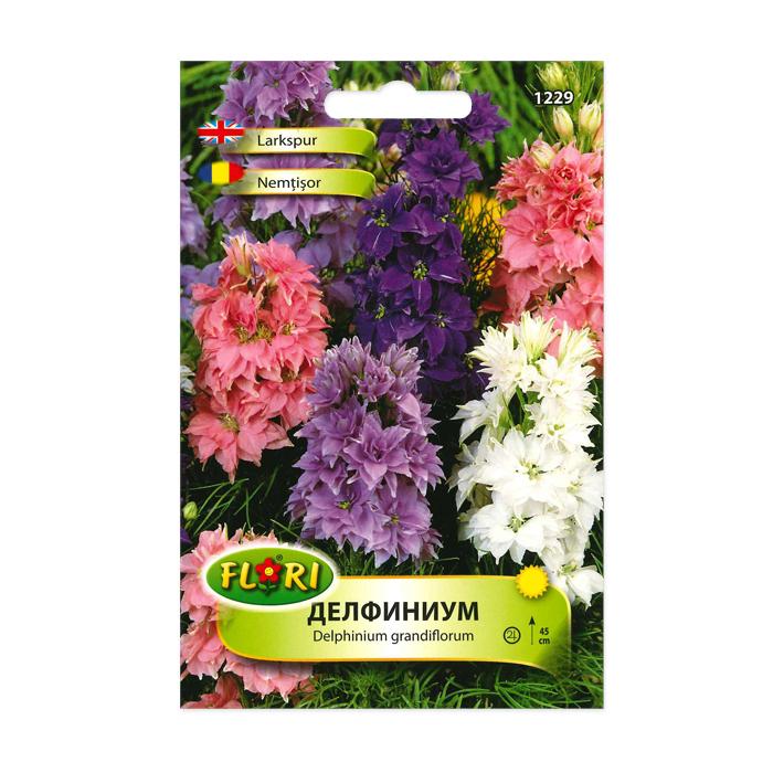Seminte de nemtisor de camp, Florian, multicolor, 0.8 grame 1