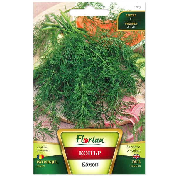 Seminte de patrunjel comon, Florian, 500 grame 1