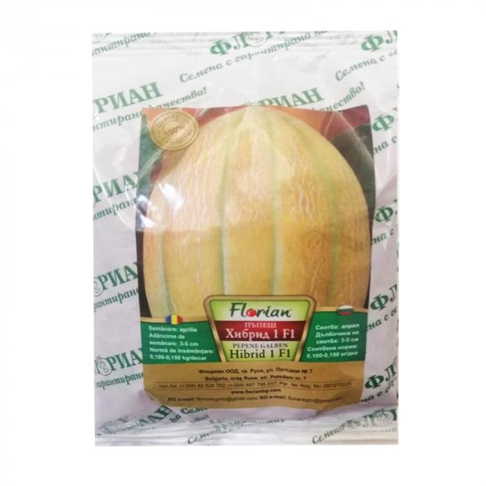 Seminte de pepene galben Hibrid 1 F1, 100 grame [0]