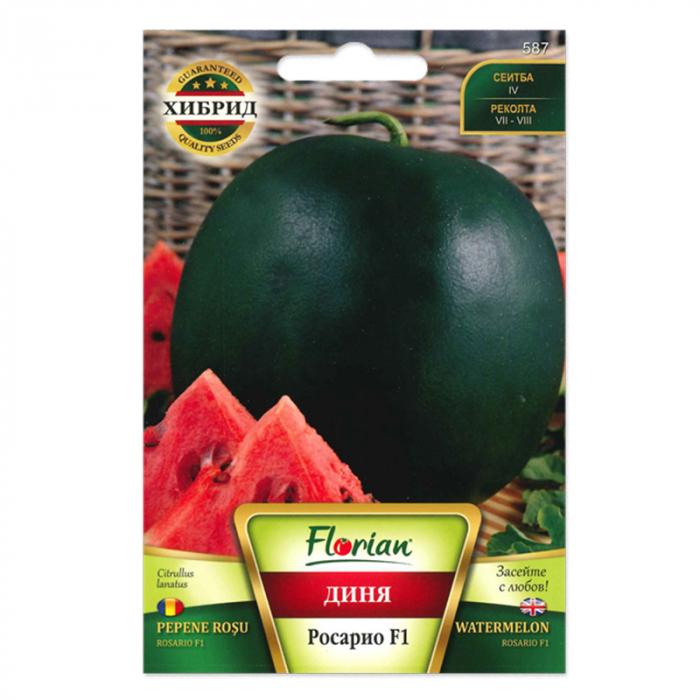 Seminte de pepene verde Rosario F1, 1 gram 0