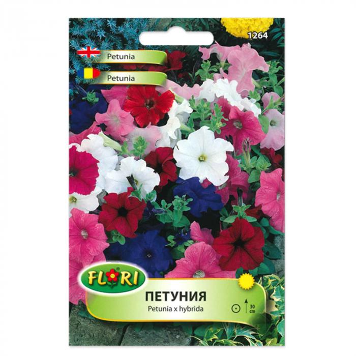 Seminte de petunia amestec culori, Florian, 0.2 grame [0]