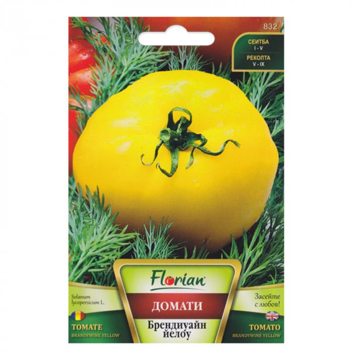 Seminte de tomate Brandywine,galbene Florian, 0,2 grame 0