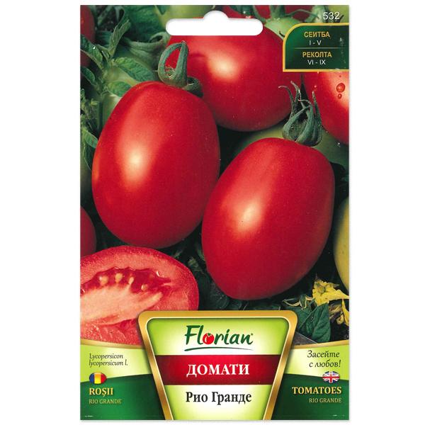 Seminte de tomate prunisoare Rio Grande, Florian, 50 grame 0