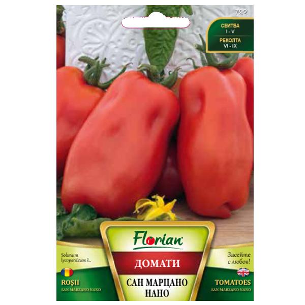 Seminte de tomate prunisoare San Marzano , Florian, 0,5 grame 0