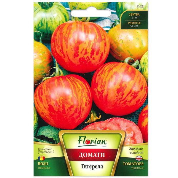 Seminte de tomate Tigerella, Florian, 0,5 grame 0