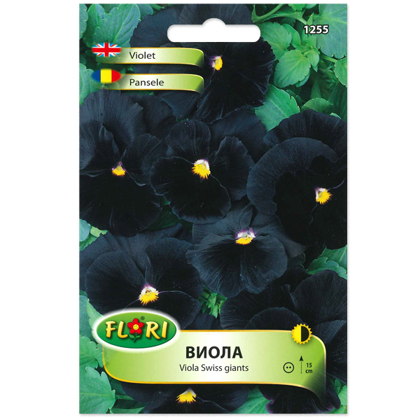 Seminte de viola negre, Florian, 0.2 grame [0]