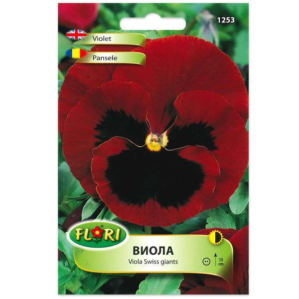 Seminte de viola rosu, Florian, 0.2 grame 0