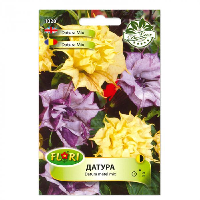 Seminte flori de datura mix (trompeta ingerului), Florian 1g 0