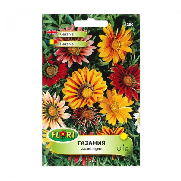Seminte flori, Florian, flori de gazania, multicolor, 0.3 g 0