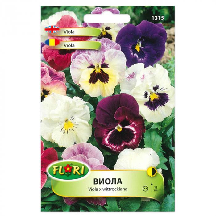 Seminte flori, Florian, Viola, multicolor, 0.2 g [0]