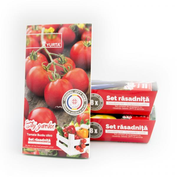Set rasadnita medie Tomate Buzau 1600 [0]