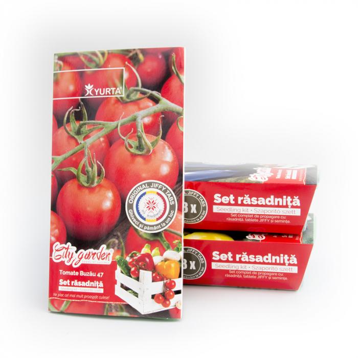 Set rasadnita medie Tomate Buzau 47 [1]
