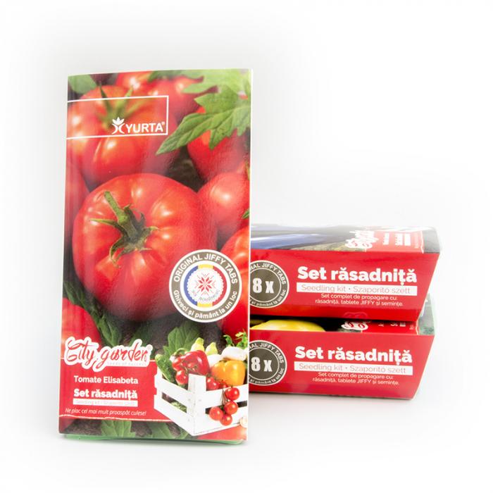 Set rasadnita medie Tomate Elisabeta 1