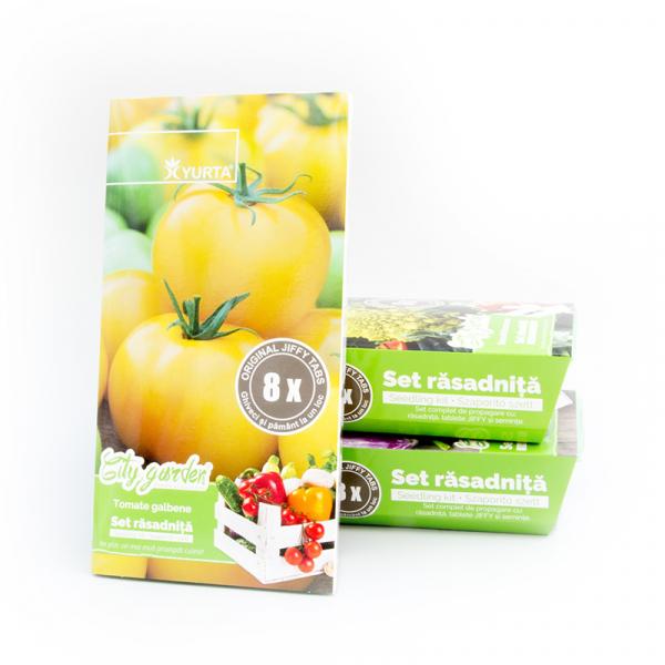 Set rasadnita medie tomate galbene [0]