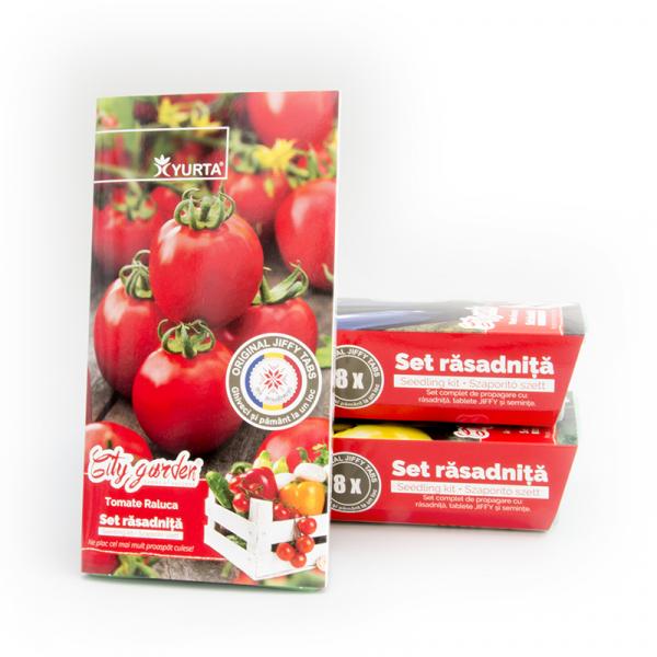 Set rasadnita medie Tomate Raluca 0
