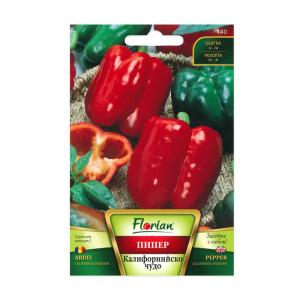 Seminte ardei gras, Florian, soi California wonder, timpuriu, 100 g0