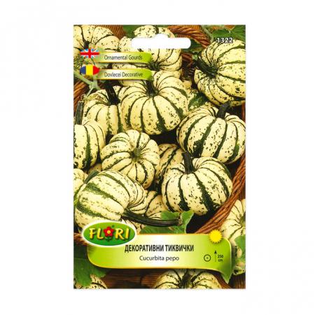 Seminte de dovlecei decorativi, Florian, sweet dumpling, 1 g1