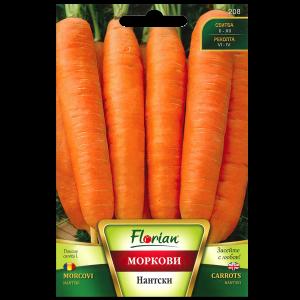 Seminte de morcovi Nantes, Florian, 5 grame0