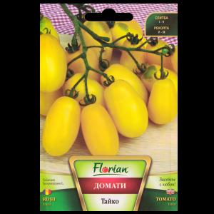 Seminte de tomate prunisoare galbene Taiko, Florian, 0,5 grame0