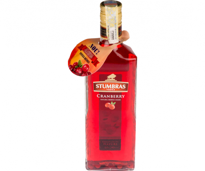 Pachet Vodka Stumbras Family 5 in 1 Cranberry, Centenary, Pure, Rasberry. Quince [2]