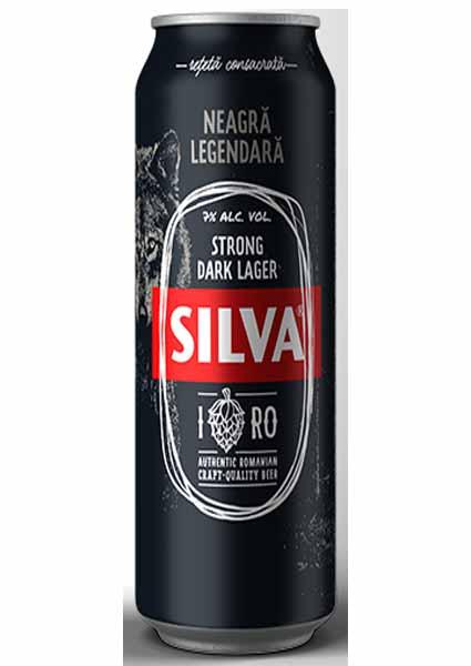 Silva Dark Lager 05 L Doza [0]
