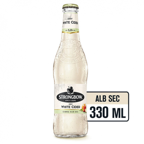 Strongbow Dry White 033 L  Sticla [0]