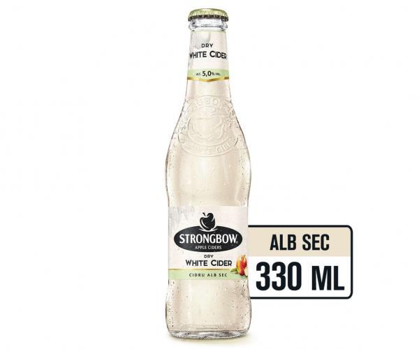 Strongbow Medium Dry 033 L Sticla [0]