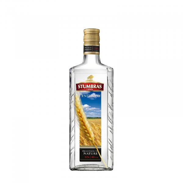 Stumbras Vodka Centenary 05 L 40 grade Alcool [0]