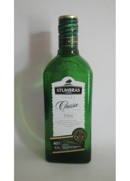 Stumbras Vodka Classic 05 L 40 grade Alcool [0]