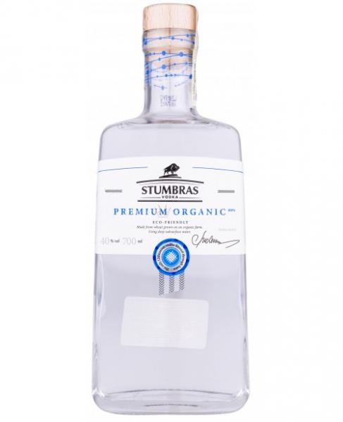 Stumbras Vodka Premium Organic 07 L 40 grade Alcool ECO [0]