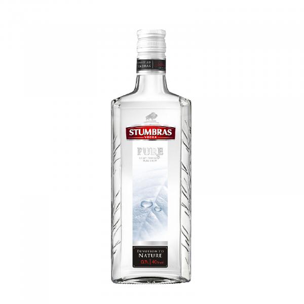 Vodka Stumbras Pure 07 L 40 grade Alcool [0]