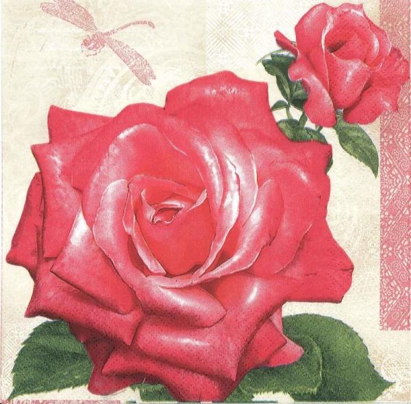 Servetel trandafiri 0