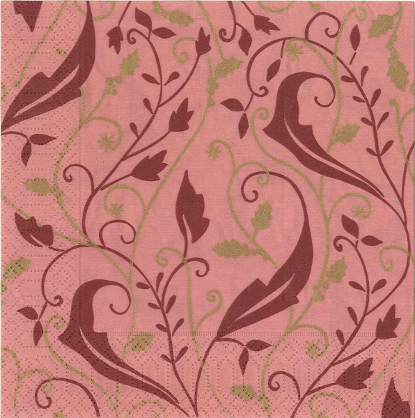 Servetel decorativ rosu de Craciun 0