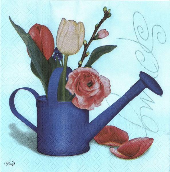 Servetel decorativ stropitoare cu flori 0