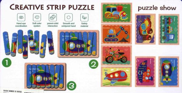 Submarin puzzle 32 spatule 1