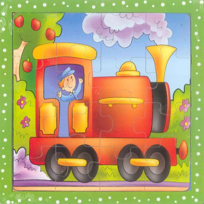 Puzzle lemn Locomotiva [0]