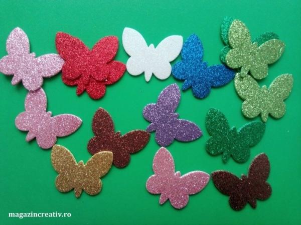 24 fluturi glitter AA [0]