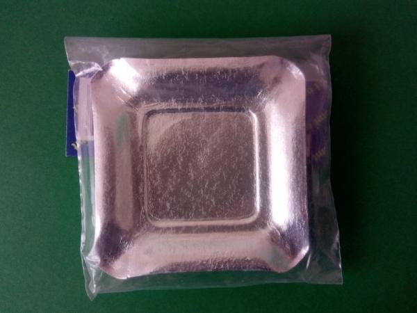 Farfurii argintii 9 cm 0