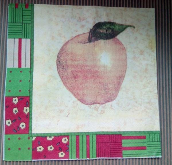 Şerveţel coş cu mere 1