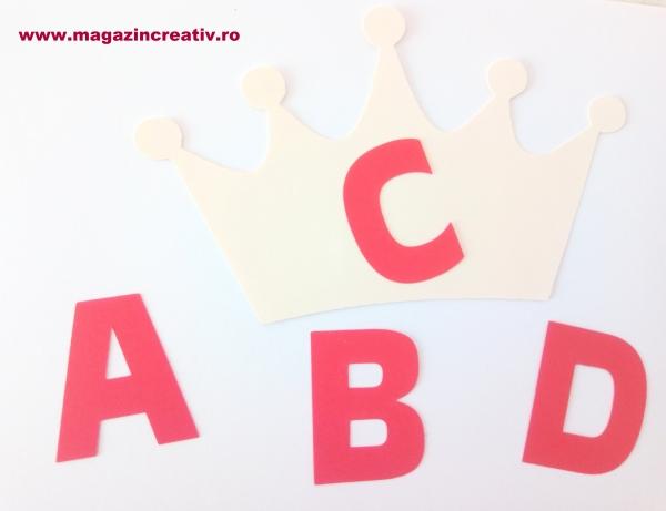 Coroană literă - set creativ [1]