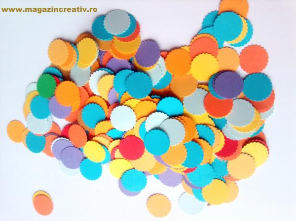 Cercuri color 1,6 cm 0