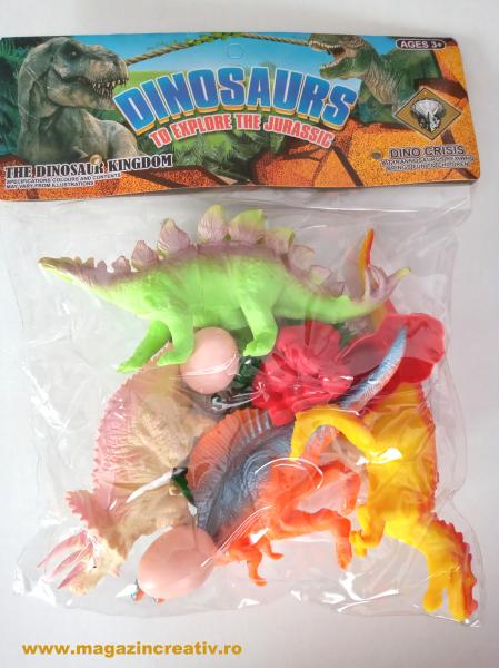 Dinozauri si mediul de viata - set 0