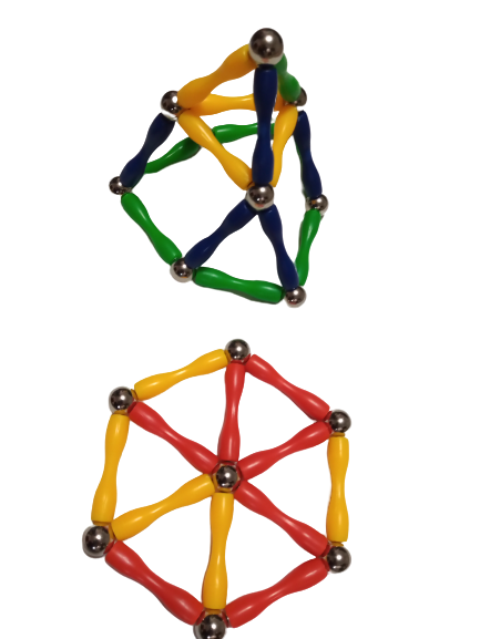 Magneti stea - 37 piese 1