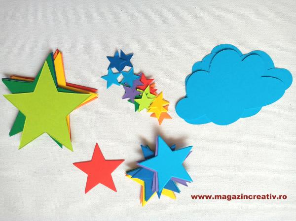 Stele curcubeu - set creativ 1