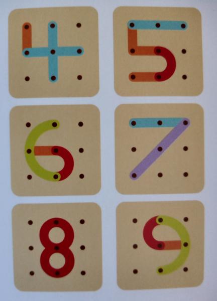 Joc lemn Formeaza litere si cifre 2